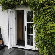 External UPVC French Doors